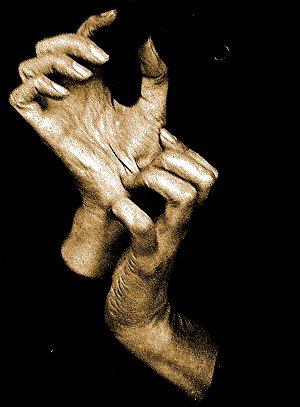 Foto Las manos de Georgia O'Keeffe Autor: Alfred Stieglitz